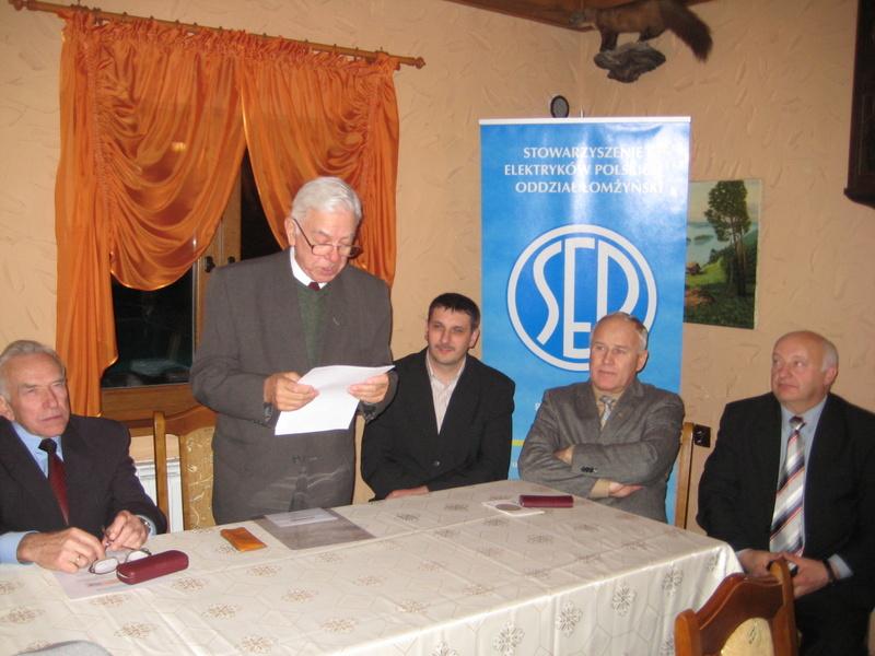 Uroczystość 30-lecia Oddziału Łomżyńskiego SEP